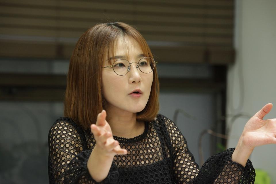 김정희원 애리조나주립대 커뮤니케이션학과 교수 ⓒ홍수형 기자