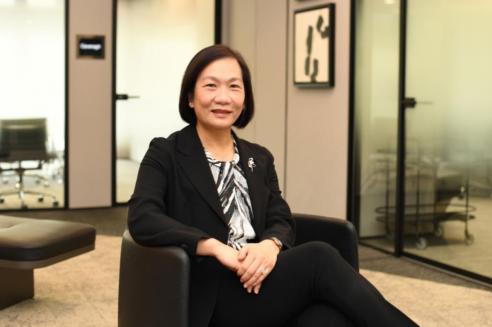 싱가포르 최초로 여성 은행 최고경영자(CEO)가 탄생했다. ⓒOCBC