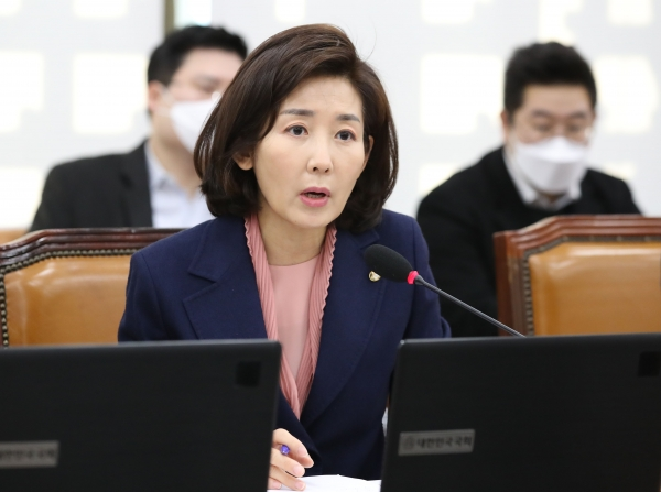미래통합당 나경원 의원. ⓒ뉴시스·여성신문