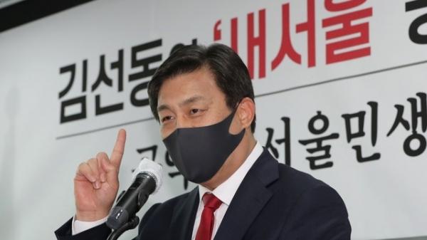 국민의힘 김선동 전 사무총장 ⓒ뉴시스