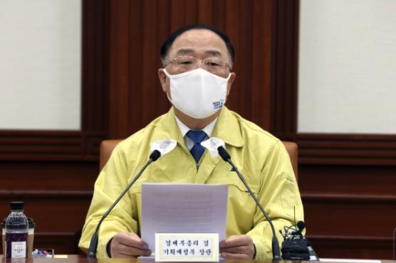 홍남기 부총리 겸 기획재정부 장관 ⓒ뉴시스