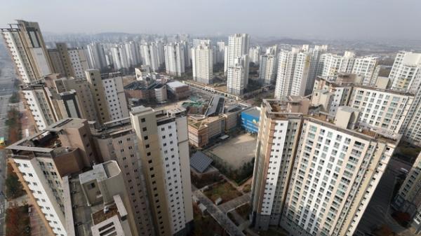 17일 경기도 김포의 아파트 단지 모습. ⓒ뉴시스