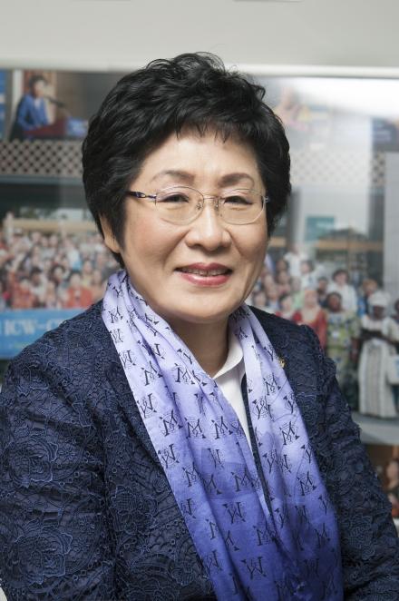 김정숙 세계여성단체협의회 회장 ⓒ여성신문