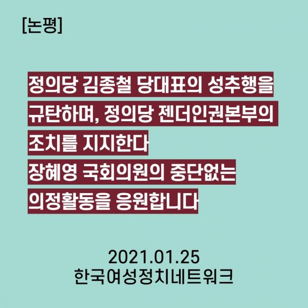 한국여성정치네트워크