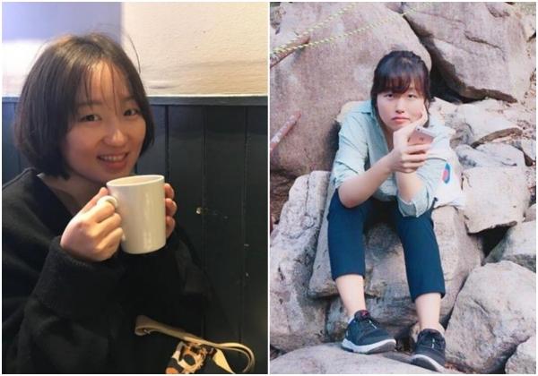 '말하는 몸' 프로젝트 제작자 박선영 피디(왼쪽), 유지영 기자. ⓒ문학동네 제공