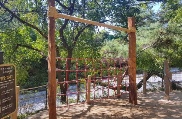 서대문구 백련산매바위 유아숲체험원 모습 ⓒ서대문구청
