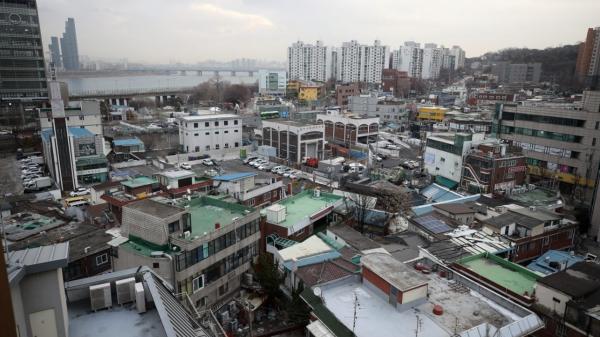 15일 서울 동작구 흑석2구역의 모습 ⓒ뉴시스