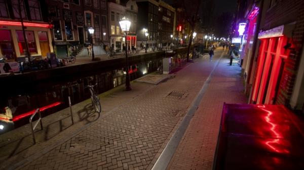 네덜란드 암스테르담 홍등가 ⓒAP/뉴시스