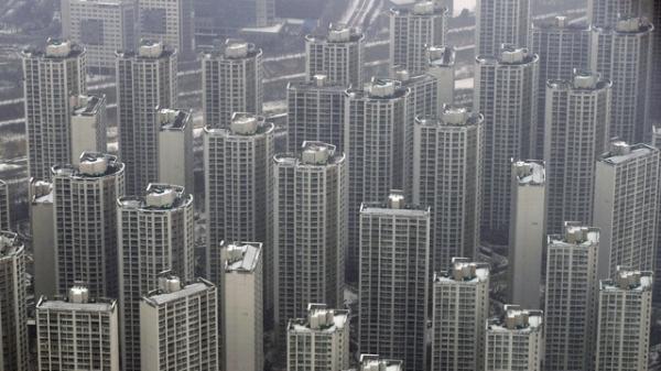 18일 오후 서울의 한 전망대에서 본 서울 시내 아파트들 모습. ⓒ뉴시스
