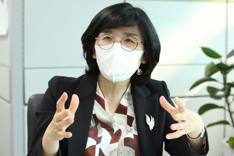 송다영 서울시 여성가족정책실장 ⓒ홍수형 기자