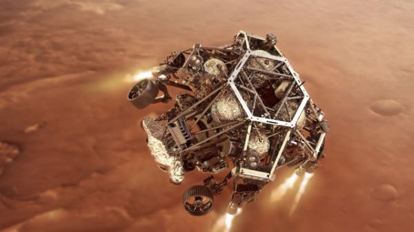 미국 항공우주국(NASA)의 5번째 화성 탐사 로버 '퍼서비어런스(Perseverance)' ⓒAP/뉴시스