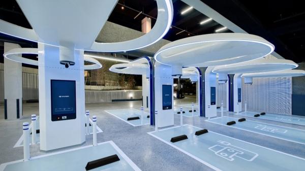 서울 강동구 길동 현대 EV 스테이션 ⓒ현대자동차