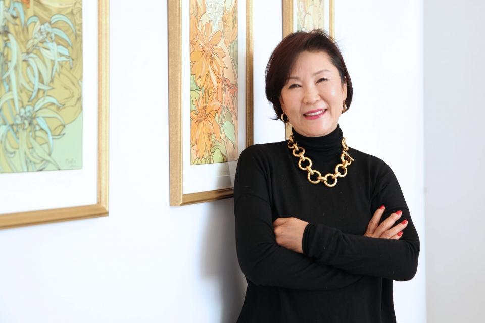 40년만에 연극계에 컴백한 배우 임향화(70) 씨. ⓒ홍수형 사진기자