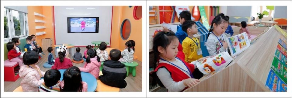 꿈더하기도서관을 이용하는 베트남 어린이들의 모습 ⓒ문화체육관광부