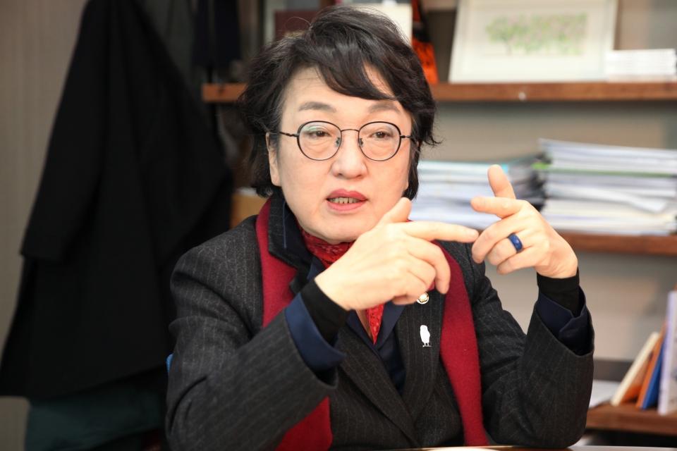 김진애 열린민주당 의원 ⓒ홍수형 기자