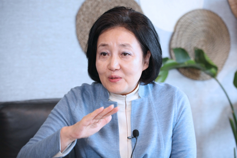 박영선 전 중소벤처기업부 장관 ⓒ홍수형 기자