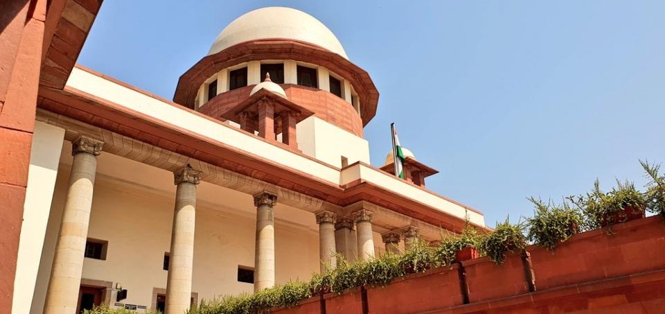 인도 대법원 ⓒ트위터 Bar&Bench 계정 갈무리