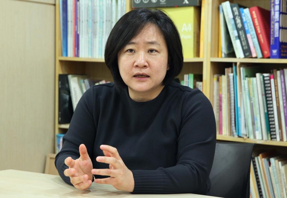 권김현영 한국여성단체연합 혁신위원장 ⓒ홍수형 기자