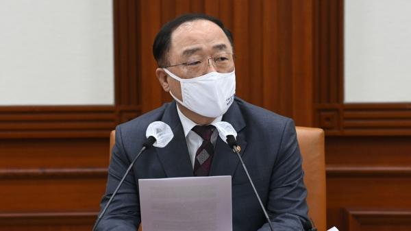 홍남기 경제부총리 겸 기획재정부 장관 ⓒ뉴시스