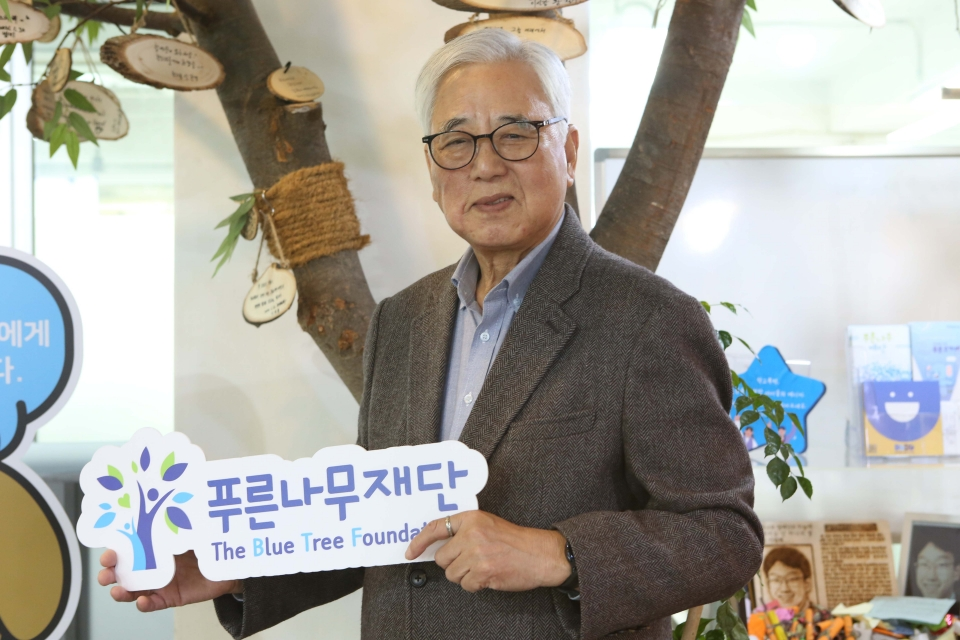 문용린 푸른나무재단 이사장 ⓒ홍수형 기자