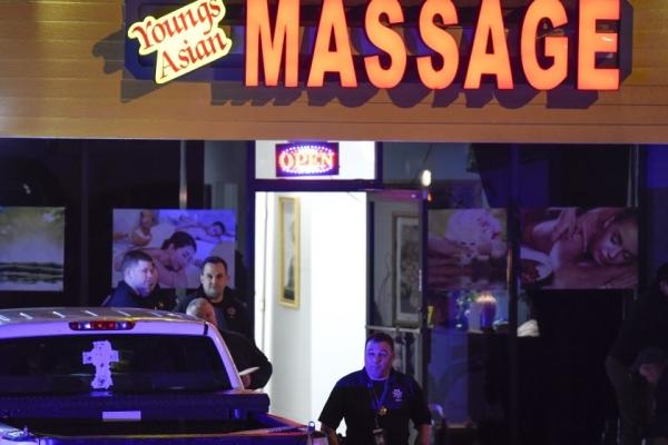 16일(현지시간) 애틀랜타 일대에서 연쇄 총격사건이 발생해 8명이 숨졌다.  ⓒAP/뉴시스·여성신문