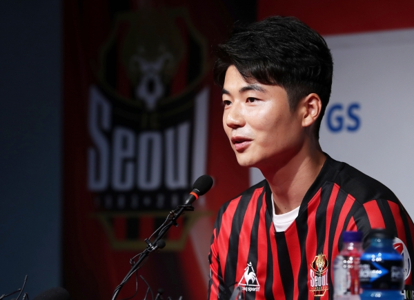축구 국가대표 출신의 미드필더 기성용(32·FC서울). ⓒ뉴시스·여성신문