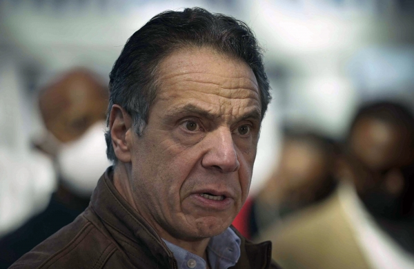 """앤드루 쿠오모(사진) 뉴욕 주지사의 성추행 의혹에 대한 검찰 수사 결과가 진행 중인 가운데 조 바이든 미국 대통령은 """"의혹이 사실로 드러나면 사퇴해야 한다""""고 밝혔다. ⓒ뉴시스·여성신문"""