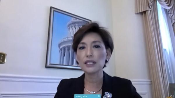 청문회에서 발언하는 한국계 영 김 의원. ⓒCNBC 청문회 영상 캡처