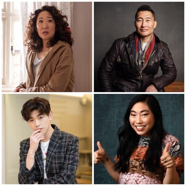 한국계 스타들이 목소리를 내고 있다. ⓒAP/뉴시스·여성신문, 스톤엔터테인먼트