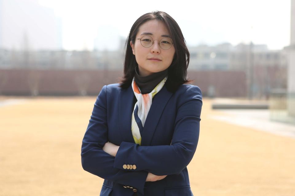 신지예 서울시장 후보 ⓒ홍수형 기자
