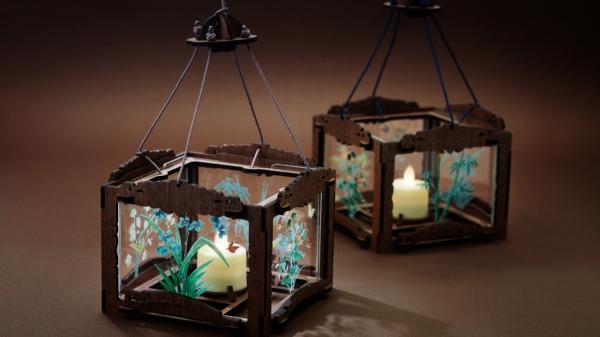 국립고궁박물관 소장 유물에서 착안해 새롭게 디자인한 조선왕실등 문화상품 ⓒ문화재청/뉴시스