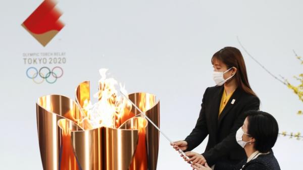 도쿄올림픽 성화 ⓒAP/뉴시스