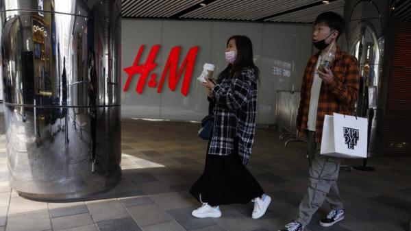 중국 베이징의 한 H&M 매장 ⓒAP/뉴시스