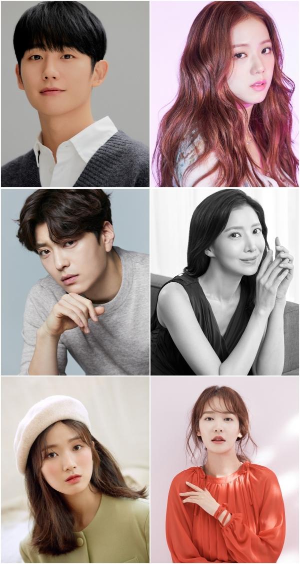 JTBC 새 드라마 '설강화' 출연진 ⓒFNC엔터테인먼트·YG엔터테인먼트·에이스팩토리·싸이더스HQ 제공