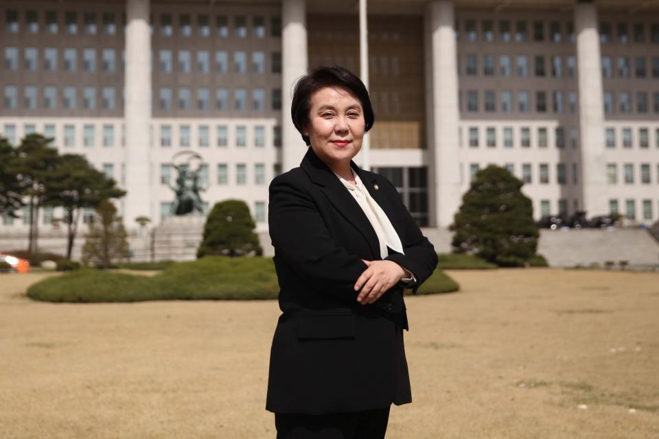 정춘숙 더불어민주당 의원 ⓒ홍수형 기자