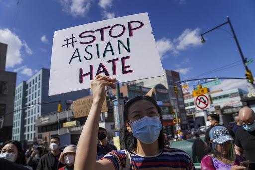 조 바이든 미국 대통령이 30일 아시아태평양계 주민 대상 폭력을 근절하기 위한 추가 대응책을 발표했다. 사진은 지난 28일 뉴욕에서 열린 아시아계 인종차별 및 폭력 반대 집회. ⓒXinhua/뉴시스·여성신문
