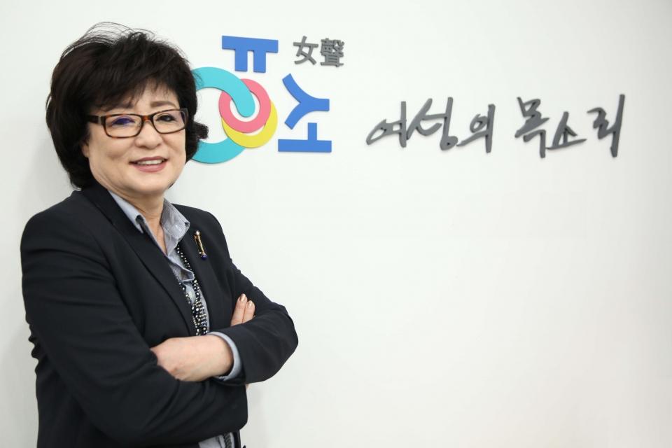 허명 한국여성협의회 회장 ⓒ홍수형 기자