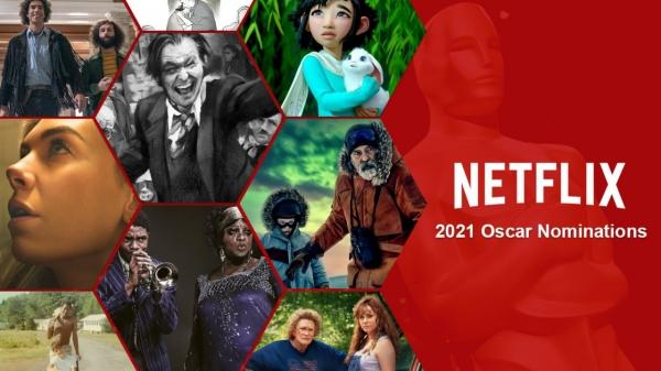 제93회 아카데미상 최종 후보로 온라인 동영상 서비스(OTT) 넷플릭스 영화 16편이 35차례 호명되며 약진했다. ⓒWhat's On Netflix