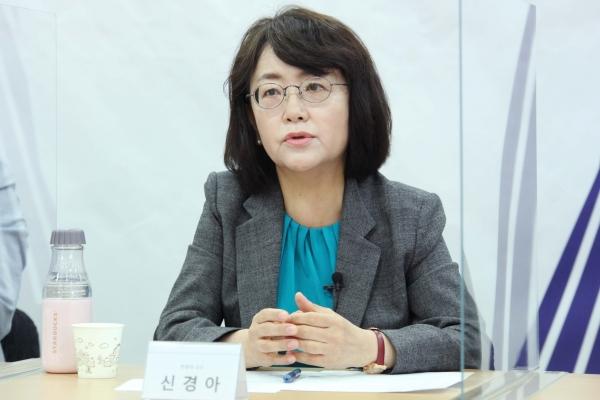 신경아 한림대 사회학과 교수 ⓒ홍수형 사진기자