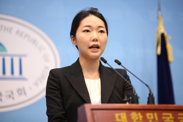 강민진 정의당 대변인. ⓒ홍수형 기자