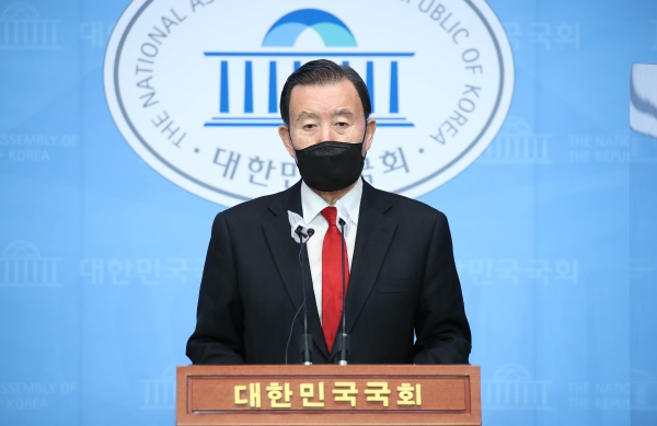 국민의힘 홍문표 의원. ⓒ뉴시스·여성신문