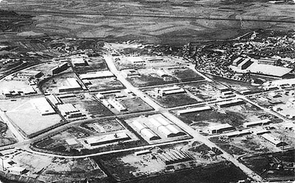 구로공단 지역의 1960년대 모습. ⓒ금천구청