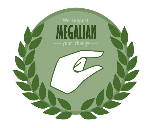 메갈리아 로고 ⓒ위키피디아