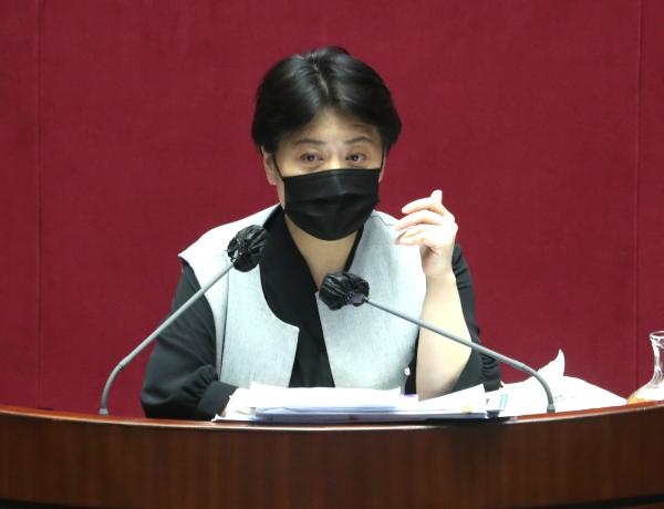 윤희숙 국민의힘 의원.