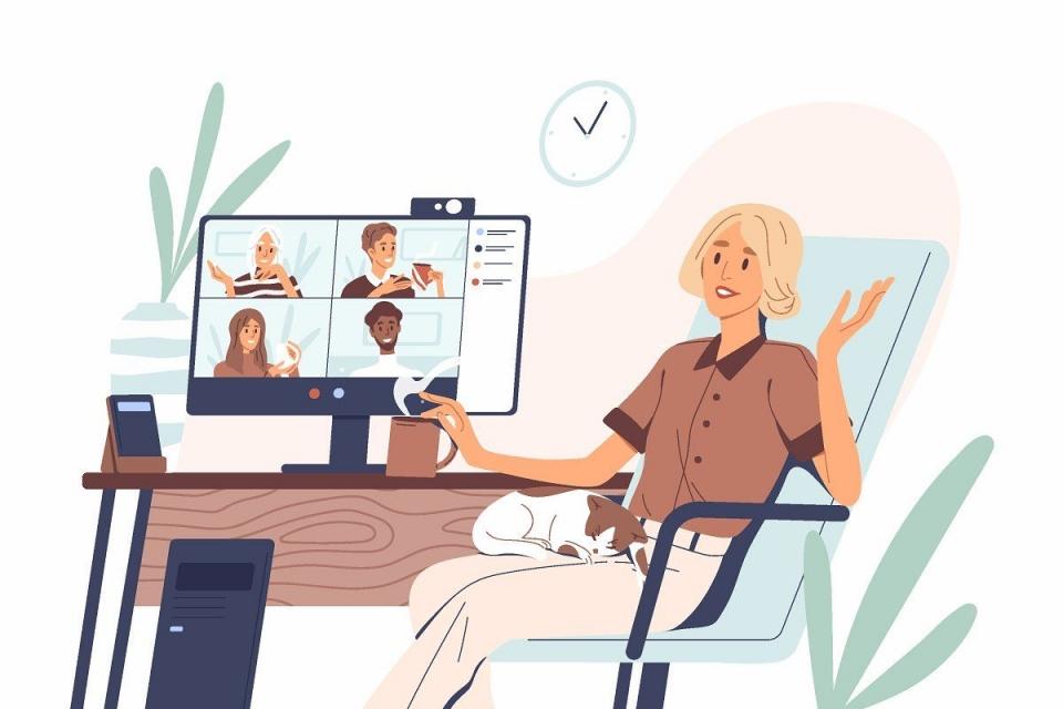 코로나19는 직장 내 성희롱 예방교육도 바꿨다. 한날한시 회사에 모여 듣던 집합 교육은 옛말이다. 줌, 마이크로소프트 팀스, 시스코 웹엑스 등 실시간 원격 교육 플랫폼을 활용한 온라인 교육이 늘었다. ⓒAdobe Stock