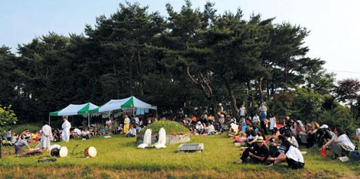 2009년 6월 열린 고정희 문화제. ⓒ여성신문
