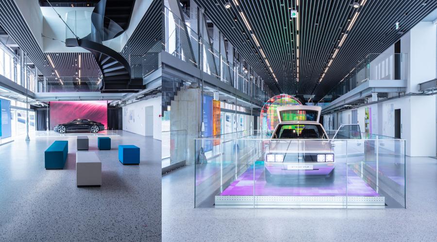 현대모터스튜디오 부산에서 열린 '리플렉션즈 인 모션' 전 ⓒ현대자동차
