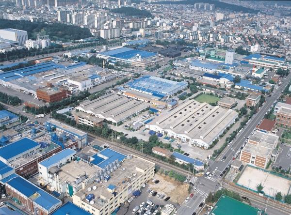 한국도자기 공장 전경 ⓒ한국도자기