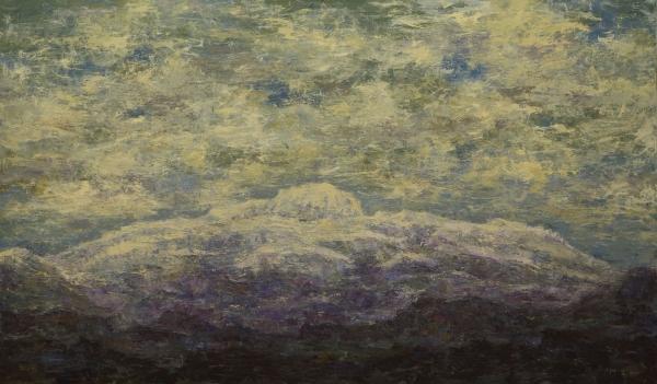 항산(恒山), 2017, 캔버스에 아크릴릭, 197×333.5cm ⓒ강요배