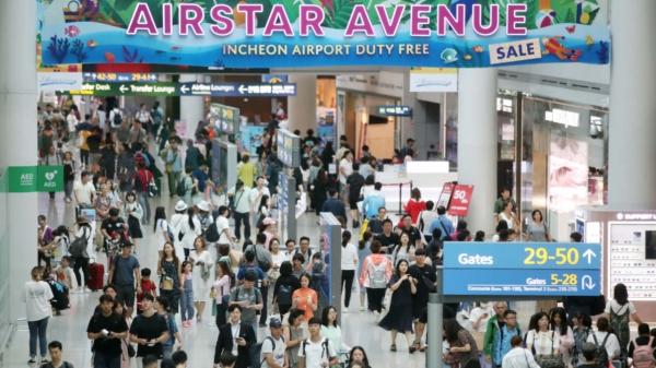 인천국제공항 면세점 ⓒ뉴시스